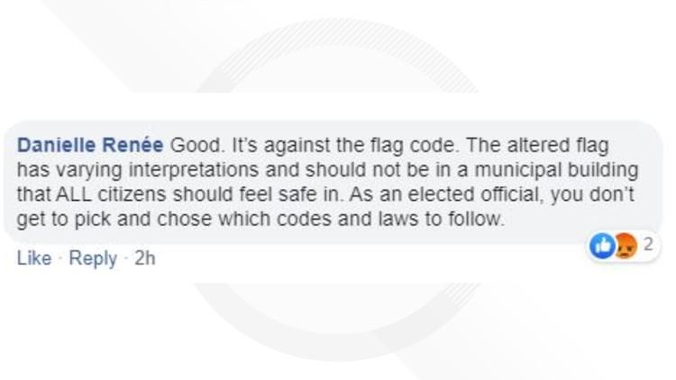 Comment, flag