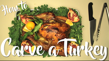 How to carve a turkey for Thanksgiving
