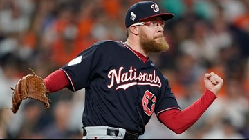 Nationals pitcher Sean Doolittle didn't attend White House celebration