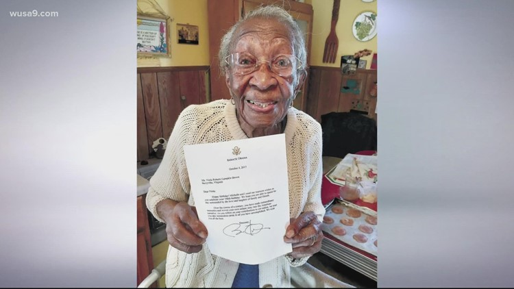 'I feel good!': Virginia woman turns 110 years old
