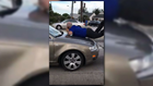 CRAZY VIDEO: Woman smashes windows, runs over bus driver in DC road rage incident