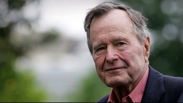 'CAVU' defined former President George H.W. Bush's life