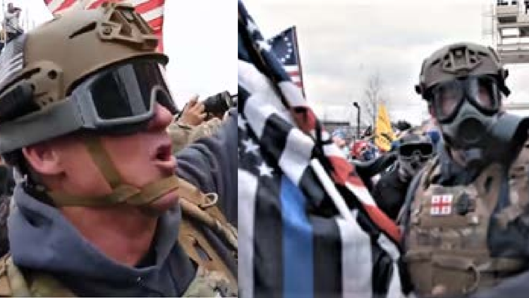 43 military veterans now charged in Capitol riot