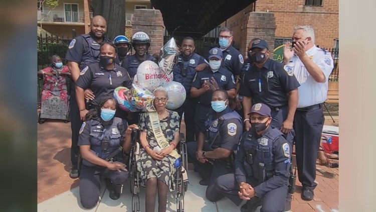 Community helps to celebrate 110-year-old woman's birthday