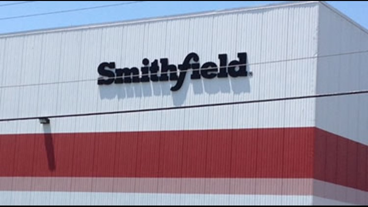 Smithfield meat plant worker accused of urinating at station