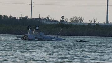 Oceana-based jet crashes off Key West; 2 crew members dead