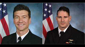 Navy identifies aviators killed in Florida jet crash