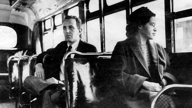Knoxville saves a seat for Rosa Parks on its buses in honor of her memory and bravery 65 years ago