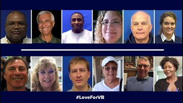 Virginia Beach victims had 150 years of combined service with city