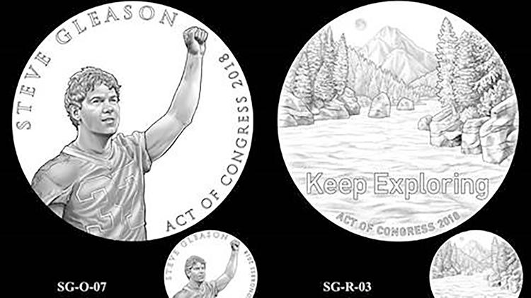 Steve Gleason Congressional Gold Medal Design