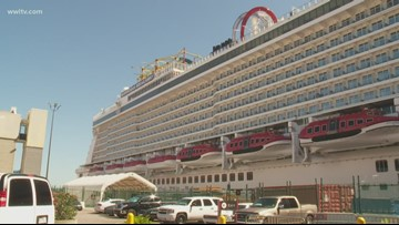 Thousands stranded in New Orleans after cruise ships divert Hurricane Dorian's path