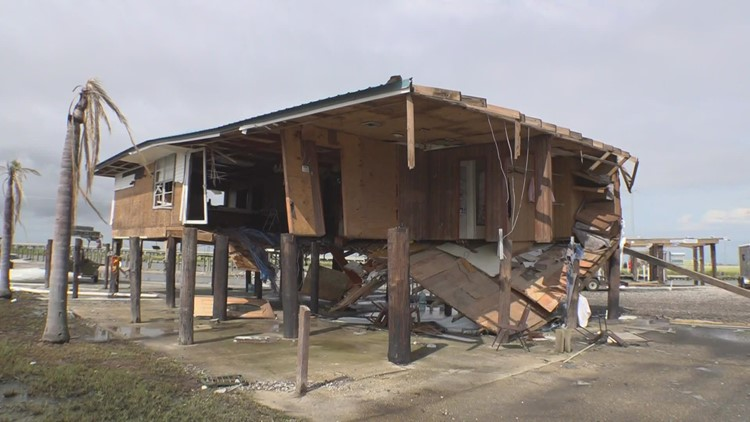 Longtime Louisiana bait shop destroyed by Ida, owner has no plans to rebuild