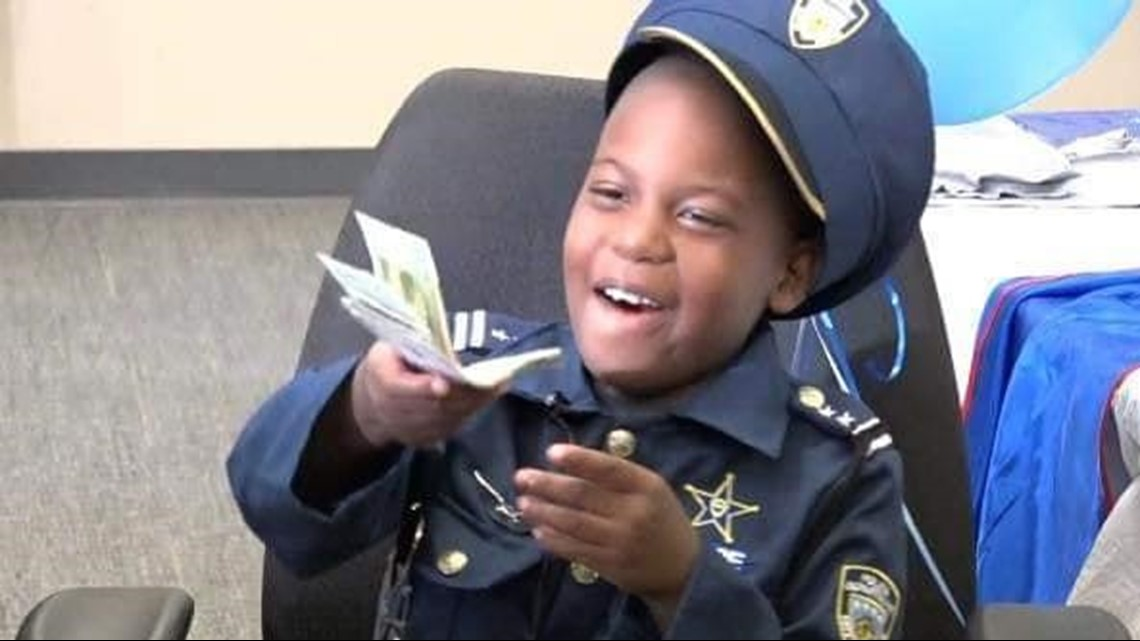 8-year-old crime-fighting Georgia 'officer' loses battle with cancer