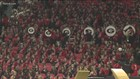 Solidarity across the field for Alabama band member