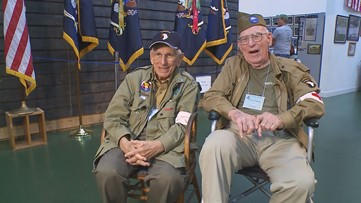 These two medics served in WWII. One flew into Normandy. Decades later, they reunited.