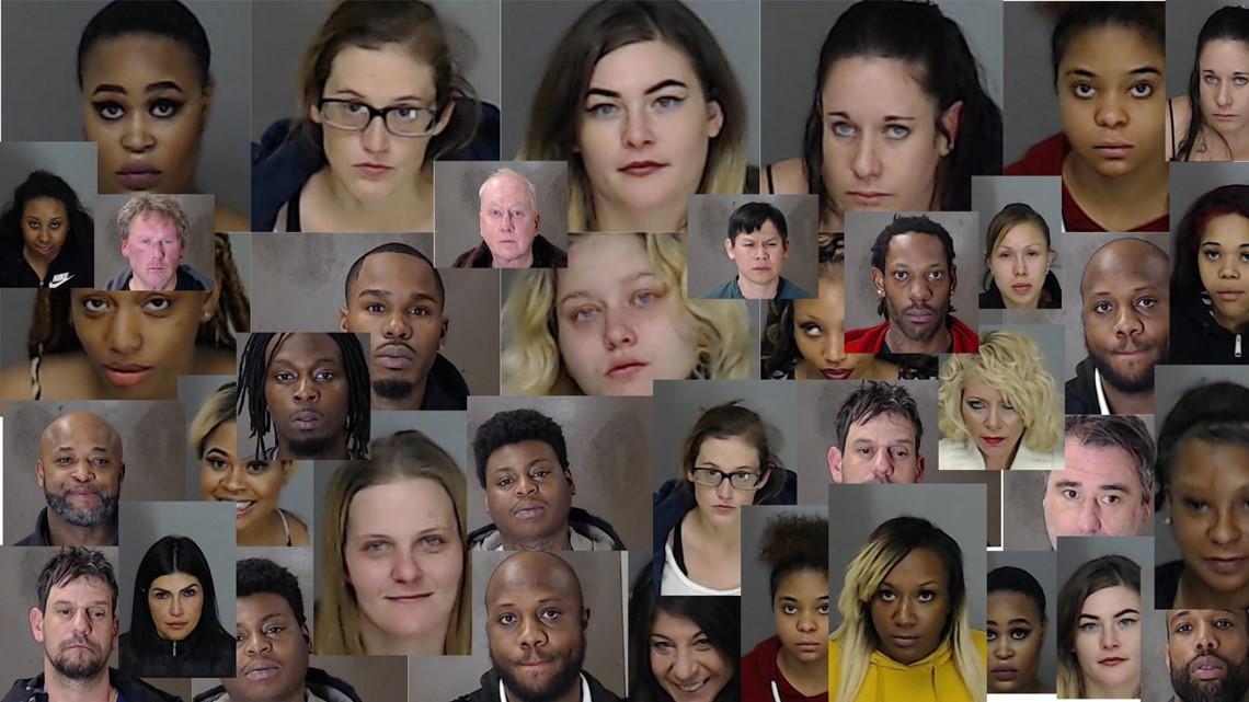 super bowl sex trafficking arrests in Palm Bay