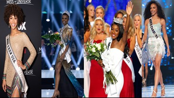 Miss Universe, Miss America, Miss USA, Miss Teen USA are all black women