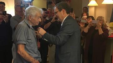 Georgia WWII veteran awarded France's highest honor