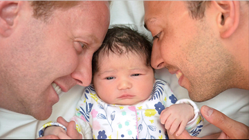 'Born out of wedlock' policy used to deny 1-year-old citizenship because her parents are gay