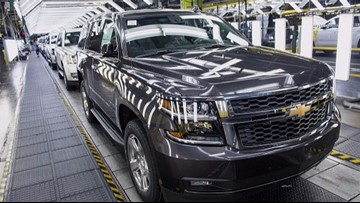 GM recalls more than 3.4M pickups, SUVs to fix brake issues