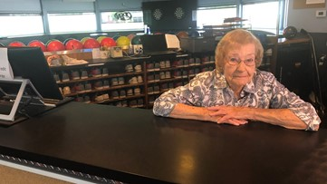 'COME ON EILEEN': Michigan woman retires from job at 95