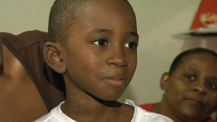 Zamarian Cooper, age 7